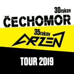 Čechomor + Arzén tour 2019