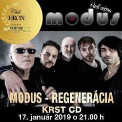 MODUS - REGENERÁCIA KRST CD