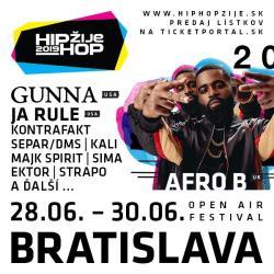 HIP HOP ŽIJE FESTIVAL  BRATISLAVA  2019