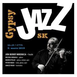 Gypsy Jazz Sk projekt Jána Berkyho Mrenicu ml.