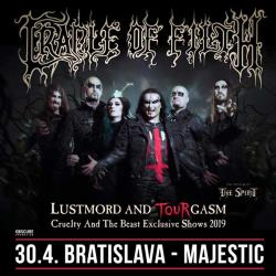 CRADLE OF FILTH (UK) + THE SPIRIT (GER)