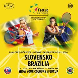 Fed Cup Slovensko – Brazília