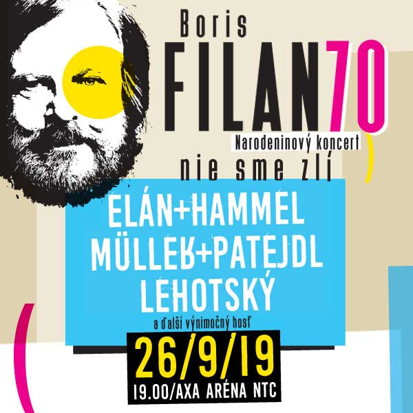 BORIS FILAN 70 / Narodeninový koncert
