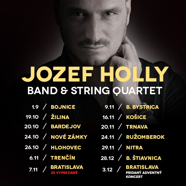 JOZEF HOLLY Band & String Quartet