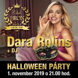 HALLOWEEN PÁRTY: DARA ROLINS + DJ