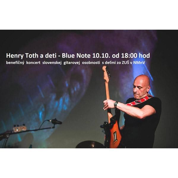 Henry Toth a deti – benefičný koncert