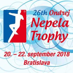 26th Ondrej Nepela Trophy 2018