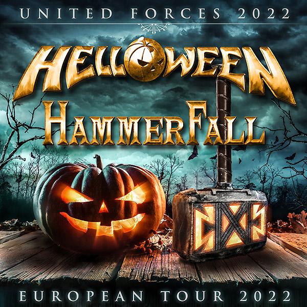 UNITED FORCES 2022 - HELLOWEEN & HAMMERFALL | 24.04.2022 - nedeľa Zimný štadión Zvolen