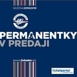 Permanentka HC Košice sezóna 2018/2019
