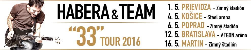 HABERA & TEAM - TOUR 2016