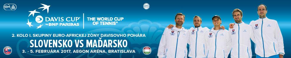 DAVIS CUP SLOVENSKO – MAĎARSKO