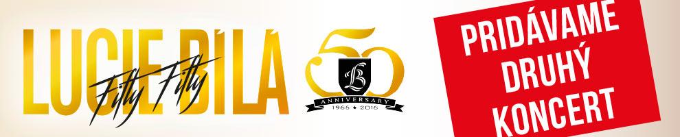 LUCIE BÍLÁ 50 FIFTY FIFTY