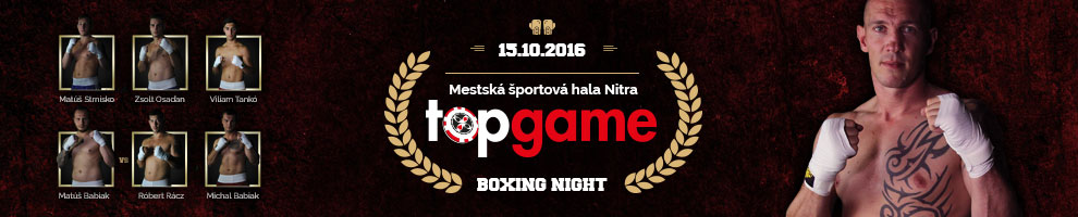 TOP GAME BOXING NIGHT