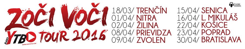 ZOČI VOČI TOUR 2016