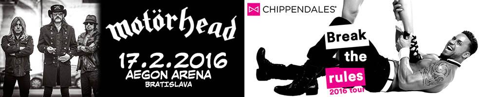MOTORHEAD - CHIPPENDALES